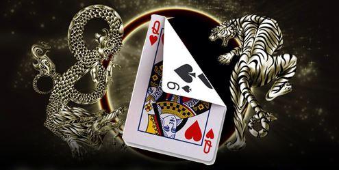 การเล่นไพ่เสือมังกร